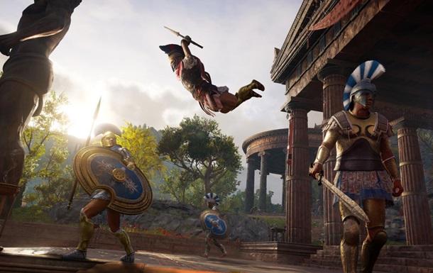 Assassin s Creed Odyssey получила первое обновление