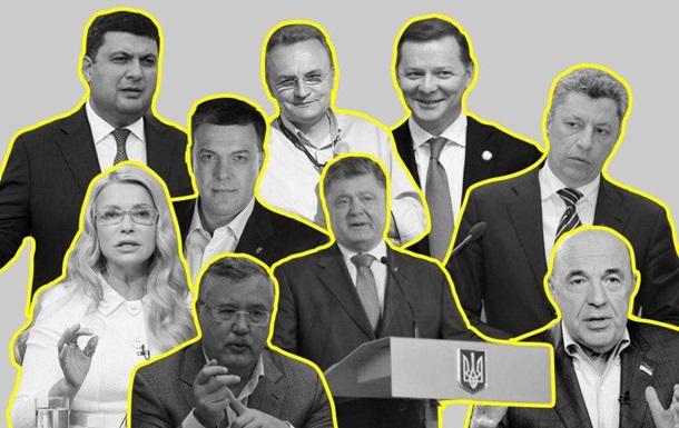Рабинович, Тимошенко і Бойко очолили рейтинг брехунів