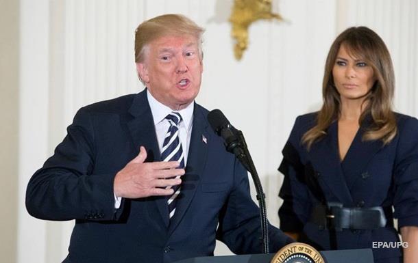Трамп розповів про нелегке життя своєї дружини