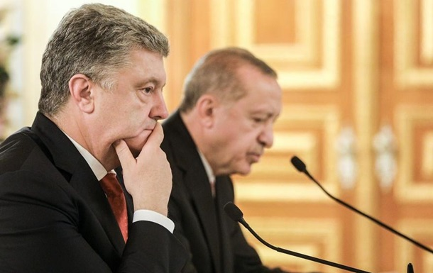Порошенко предложил Эрдогану направить миротворцев на Донбасс