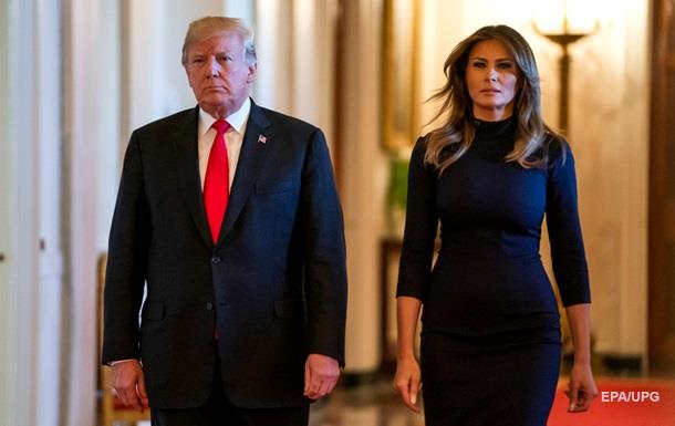 Меланія Трамп стала на захист чоловіка