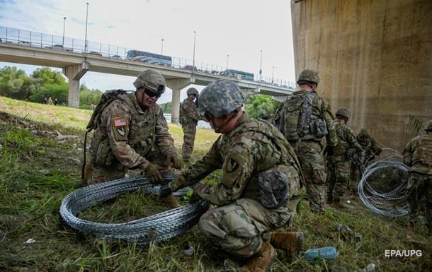 СМИ назвали стоимость размещения солдат США на границе с Мексикой