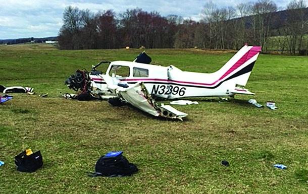 У США розбився легкомоторний літак: є жертви