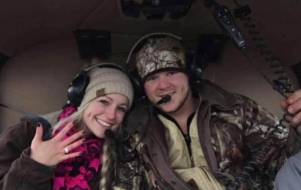 В США молодожены разбились на вертолете сразу после свадьбы