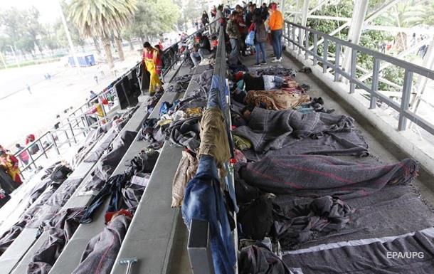 Караван беженцев добрался до Мехико