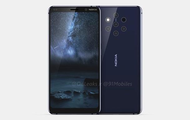 Nokia 9: фото и видео