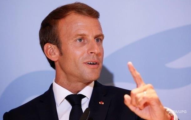 У Франції планували замах на Макрона