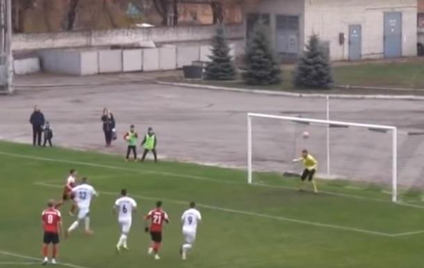Вратарь ФК Сумы отбил пенальти головой