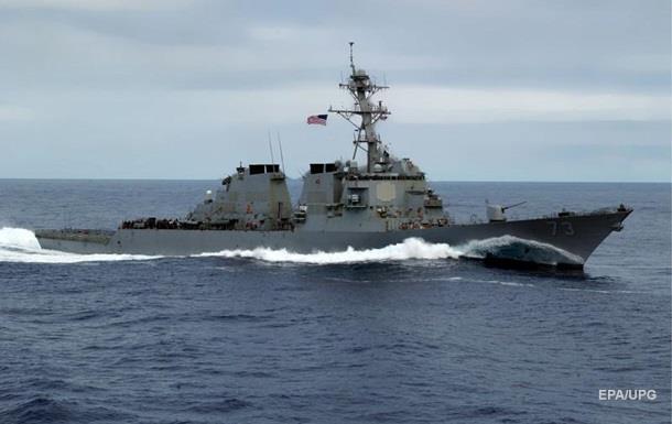 Опубліковано відео небезпечного зближення есмінців США і Китаю