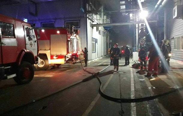 Пожар на заводе под Одессой локализован