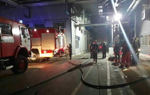 Пожар на маслоперерабатывающем заводе под Одессой потушили