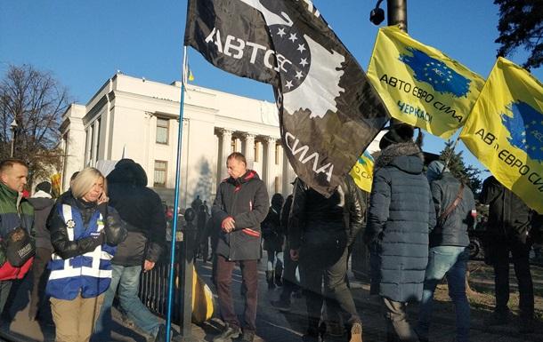 Евробляхеры  грозят масштабными протестами по всей Украине