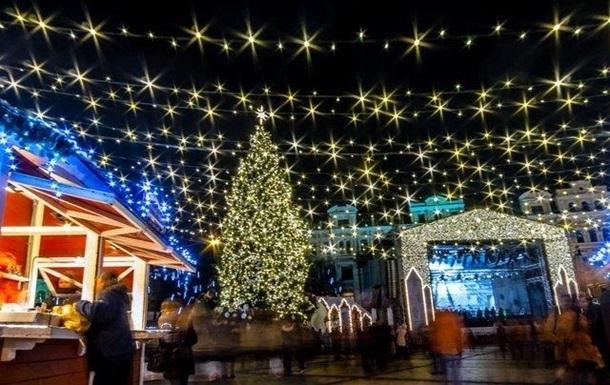 В центре Киева ограничат движение из-за подготовки к Новому году