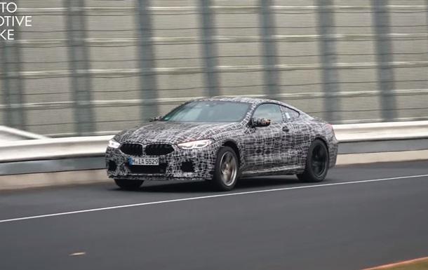 BMW M8: видео