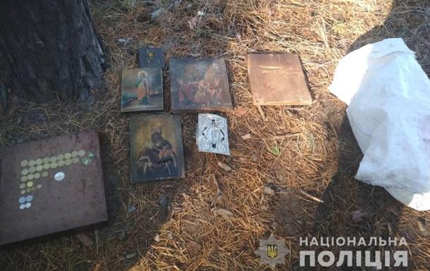 В Харьковской области задержали грабителя храма