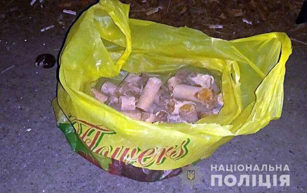 На Донбассе грибник нашел полтора килограмма тротила