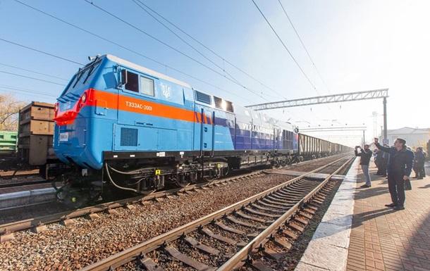 В Украине испытали американский локомотив