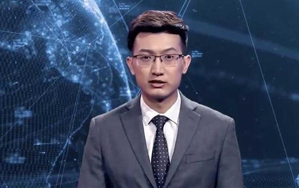 Перший цифровий телеведучий з явився в Китаї