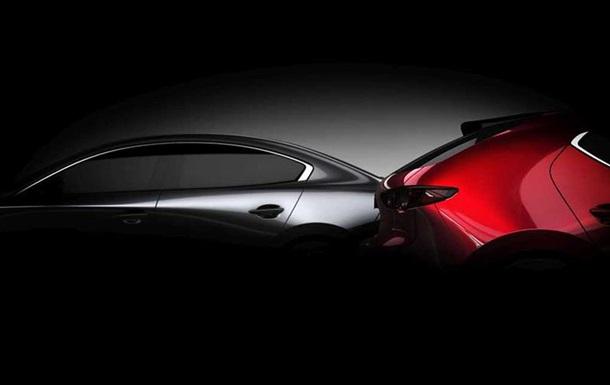 Mazda назвала дату презентации новой тройки