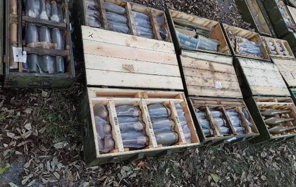 С Донбасса пытались вывезти пять тонн оружия