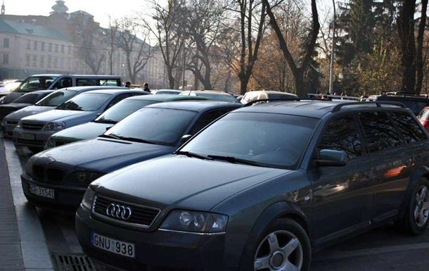 Євробляхери  почали акції протесту у Львові