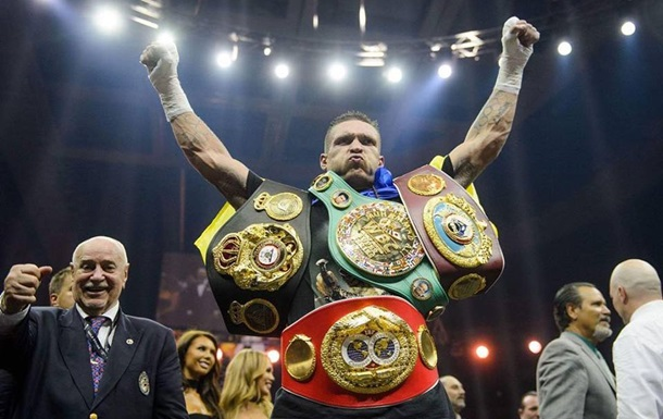 Бокс: Олександр Усик - Тоні Беллью. Онлайн