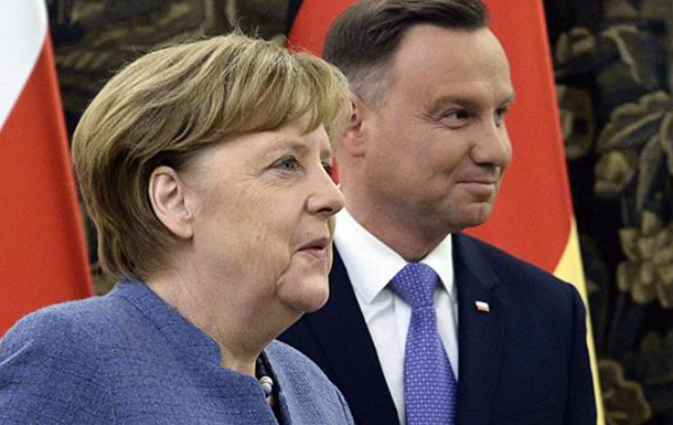 Меркель, Польша…