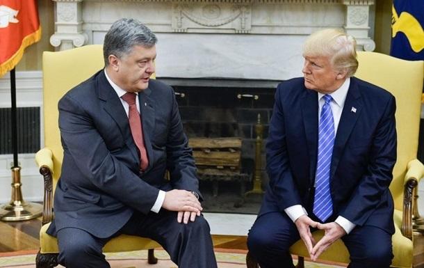 Порошенко провів зустріч із Трампом у Парижі