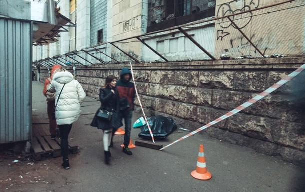 In Kiev, under the Shuliavsky bridge, a man died