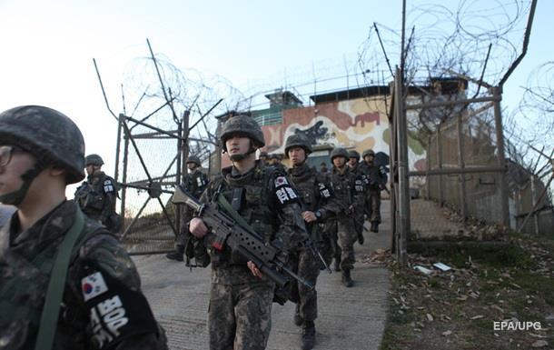 КНДР уничтожила 636 мин награнице сЮжной Кореей