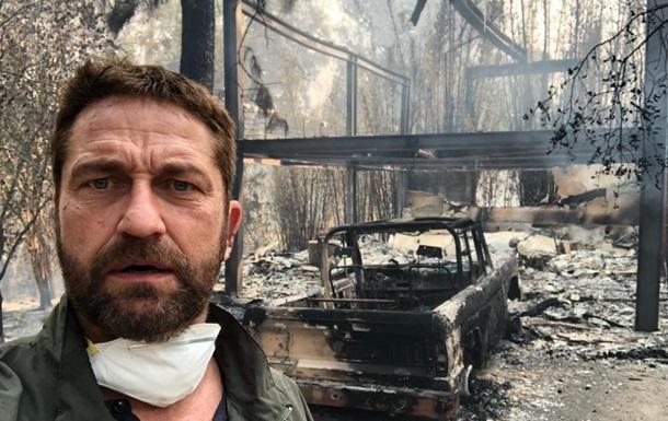 Дом актера Джерарда Батлера уничтожил лесной пожар