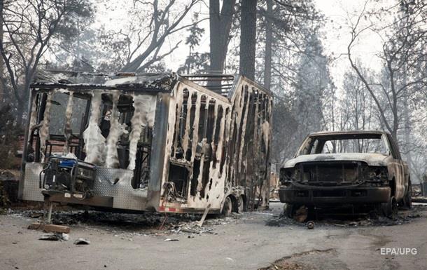 Пожар в Калифорнии: фото