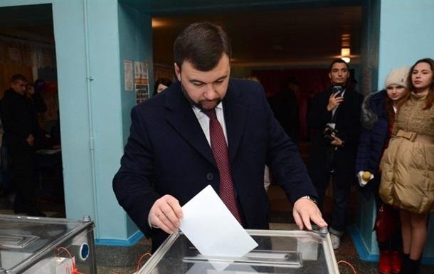 У  ДНР  оголосили про  перемогу  Пушиліна на  виборах