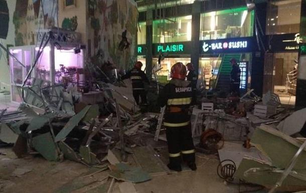 В Минске в торговом центре обрушился потолок, есть пострадавшие