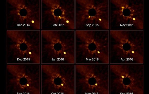 Обертання планети навколо іншої зірки зняли вперше