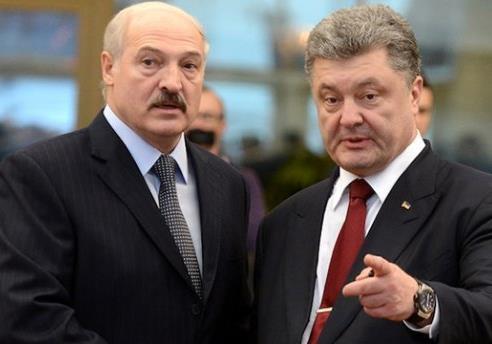 Официальная проекция украинской действительности на Беларусь