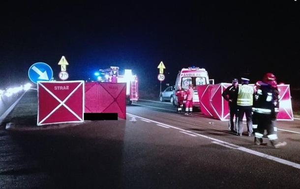 В Польше водитель сбил на переходе трех украинок