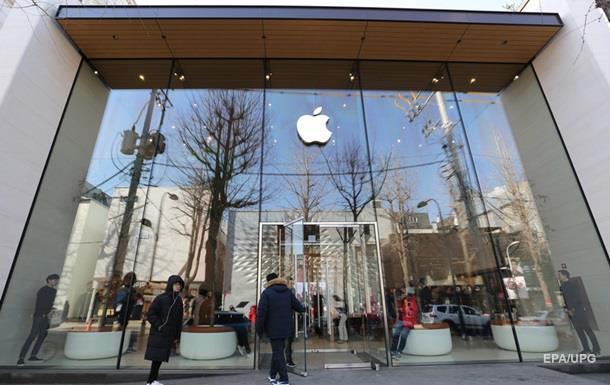 Apple за месяц потеряла доход за 30 лет