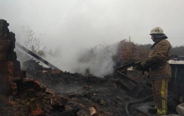 Під час пожежі в Запорізькій області загинули три дитини