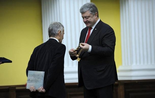 Порошенко нагородив Джемілєва орденом Свободи