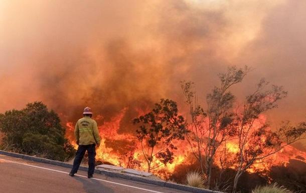 Пожежі у Каліфорнії: кількість загиблих сягнула 48-ми