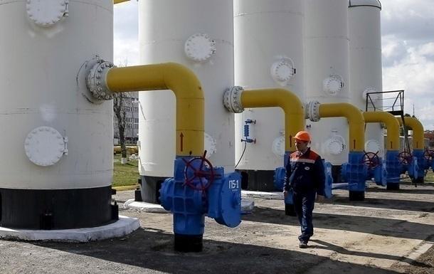 Україна подвоїла відбір газу зі сховищ