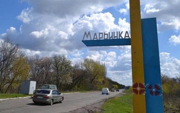 В Марьинке во время обстрела был ранен местный житель