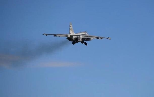 Авиация ВСУ отработала удары по наземным целям