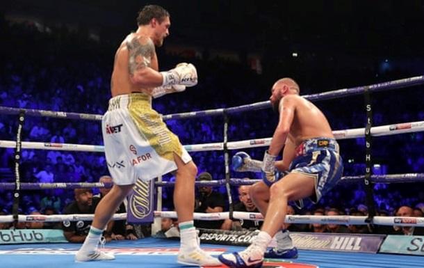 Усик попал на обложку известного журнала о боксе