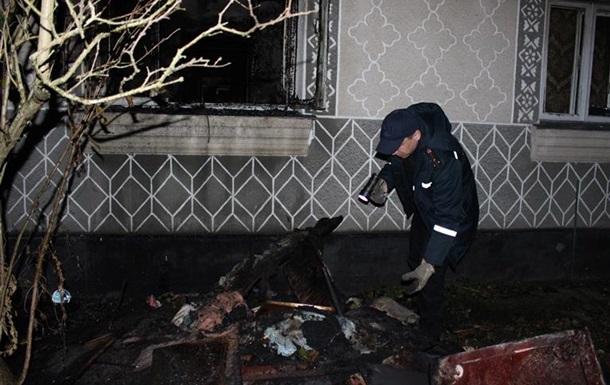 В Ровенской области на пожаре жилого дома погибли два человека