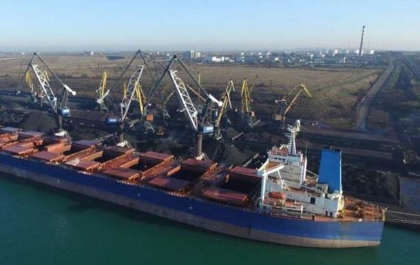 В Украину прибыло судно с углем из Южной Африки