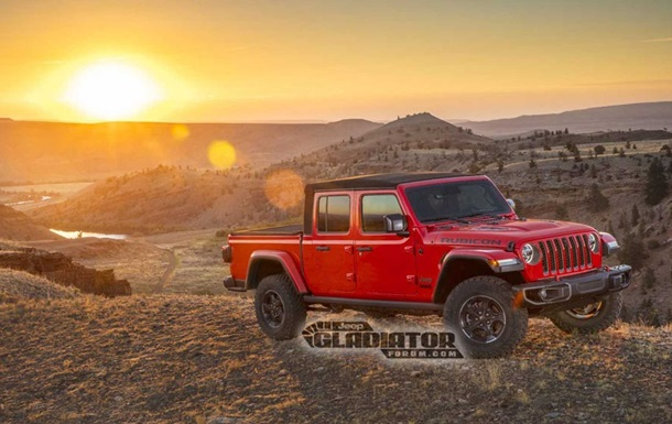 Jeep Gladiator: фото