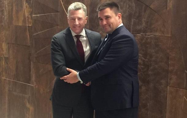 Климкин встретился с Волкером