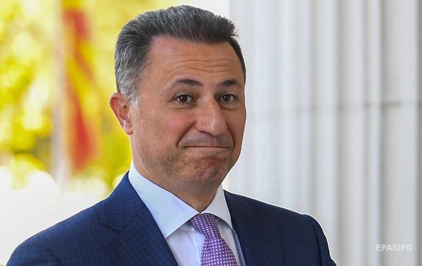 Венгрия помогла сбежать из страны экс-премьеру Македонии − СМИ